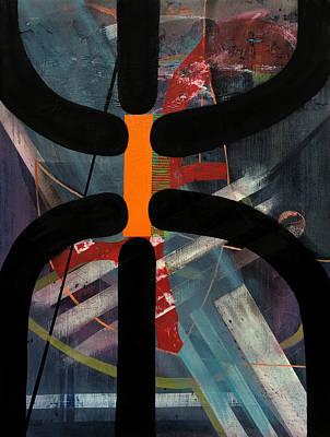 Baselitz Painting - Arachnophobia by Antonio Ortiz