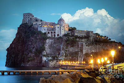 Castello Photograph - Aragonese Castle by Inge Johnsson