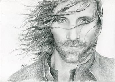 Aragorn Art Print by Bitten Kari