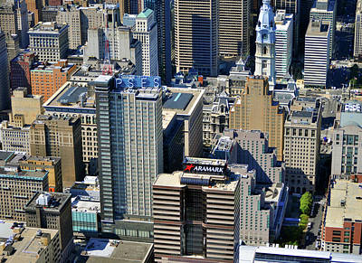 Photograph - Aramark Psfs Buildings 1101 Market St Philadelphia Pa 19107 2926 by Duncan Pearson