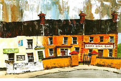 Painting - Aran Bygones 4 by Val Byrne