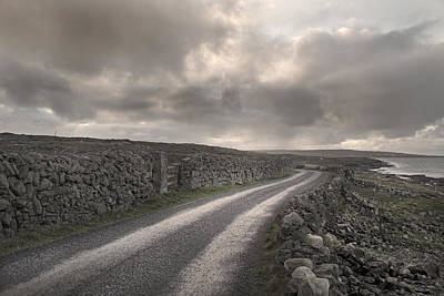 Aran Islands Seaside Drive Art Print