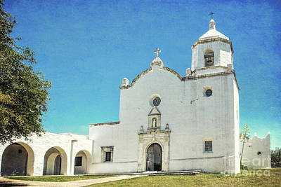 Photograph - Mission La Bahia by Lynn Sprowl