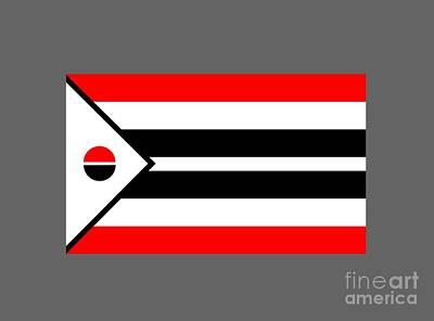 Arapaho Mixed Media - Arapaho Flag by Frederick Holiday