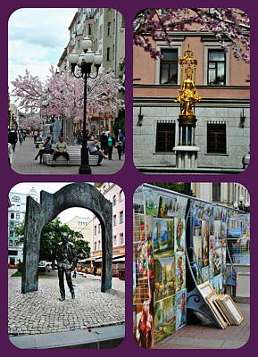 Photograph - Arbat Street - Moscow by Jacqueline M Lewis