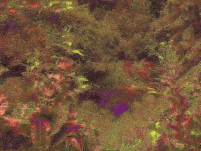 Digital Art - Arboretum Pond by Tim Allen