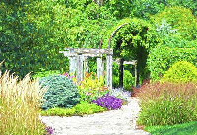 Photograph - Arboretum by Sandi OReilly