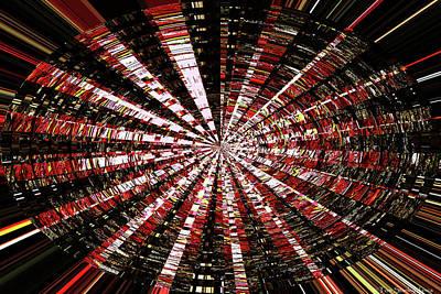 Digital Art - Arbutus Bark Abstract #7741 by Tom Janca