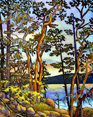 Arbutus Tree Paintings Sale