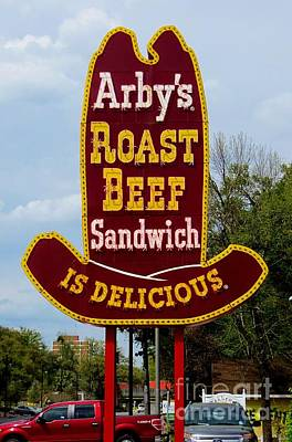 Photograph - Arbys by Tim Townsend