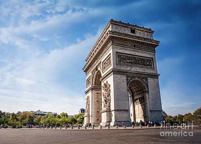 Photograph - Arc De Trimomphe by Scott Kemper