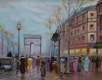 Arc De Triompfe - Lmj Art Print