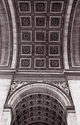 Photograph - Arc De Triomphe 3 by Andrew Fare