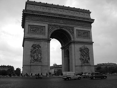 Photograph - Arc De Triomphe by Diane Height