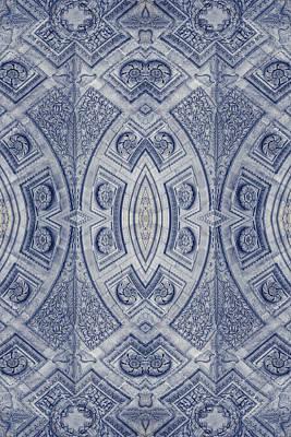 Kaleidoscope Photograph - Arc De Triomphe Du Carrosel Paris Kaleidoscope Vertical by Joan Carroll