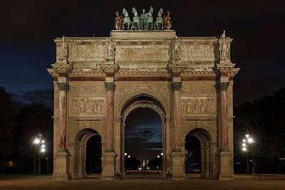 Photograph - Arc De Triomphe Du Carrousel by Hany J