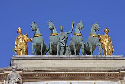Photograph - Arc De Triomphe Du Carrousel by Harvey Barrison