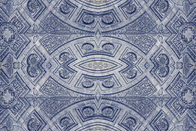 Kaleidoscope Photograph - Arc De Triomphe Du Carrousel Paris Kaleidoscope by Joan Carroll