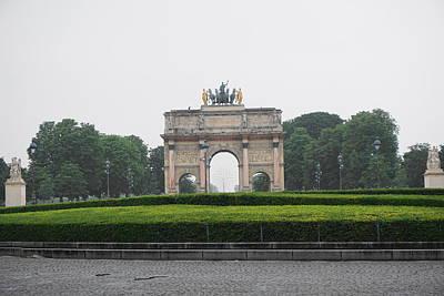 Arc De Triomphe Du Carrousel Wall Art - Photograph - Arc De Triomphe Du Carrousel by Rachel Walla
