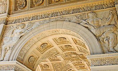 Photograph - Arc De Triomphe Du Carrousel Wide Format by Tony Grider