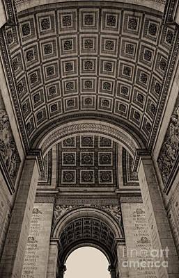 Arc De Triomphe Interior Art Print