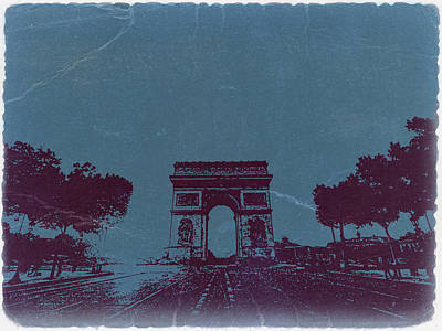 Arc De Triumph Art Print by Naxart Studio