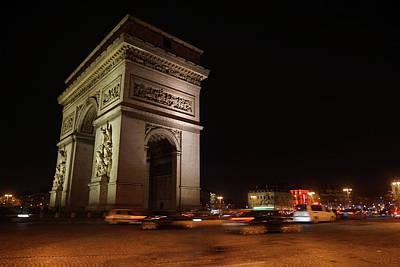 Photograph - Arc Du Triomphe Paris by Erik Tanghe