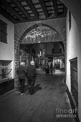 Photograph - Arc Of The Populo Cadiz Spain by Pablo Avanzini