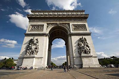 Photograph - Arc The Triomphe Paris by Pierre Leclerc Photography