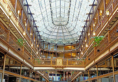 Photograph - Arcade Cleveland Wide by Robert Meyers-Lussier