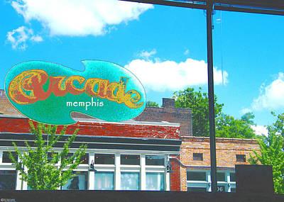 Photograph - Arcade Memphis Diner by Lizi Beard-Ward