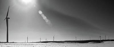 Arcade Wind Farm 6562 Original by Guy Whiteley