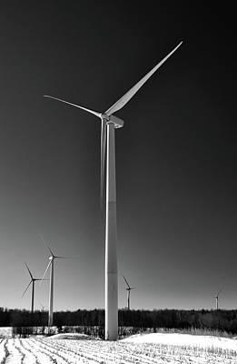 Arcade Wind Turbines 6557 Original by Guy Whiteley