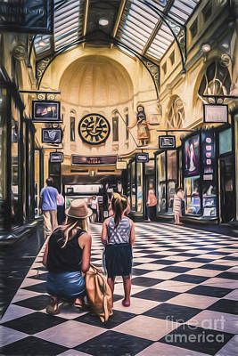 Photograph - Arcade Wonder - Melbourne, Australia   by Ray Warren