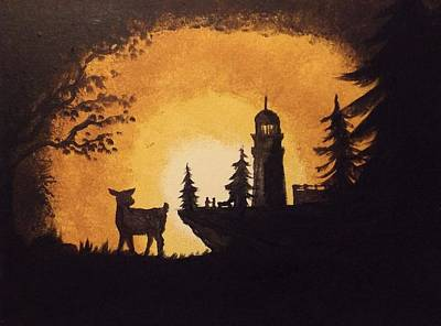 Painting - Arcadia Bay by Sunshine Ammerman