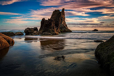 Photograph - Arcadia Sunset by Rick Berk