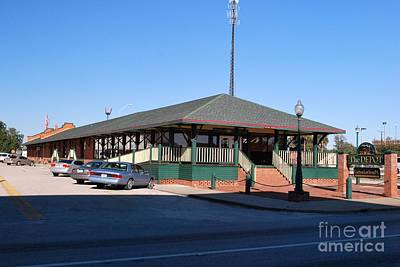 Photograph - Arcadia Train Station by Gary Wonning