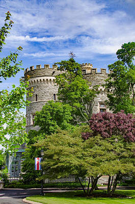 Beaver Digital Art - Arcadia University Castle - Glenside Pennsylvania by Bill Cannon