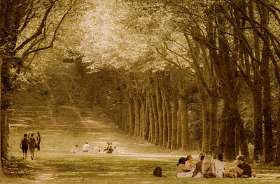 Photograph - Sceaux, France - Arcadian Days by Mark Forte