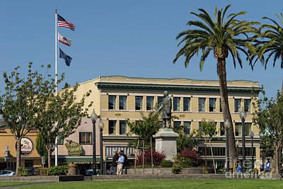 Photograph - Arcata Plaza Arcata California Dsc5392 by Wingsdomain Art and Photography