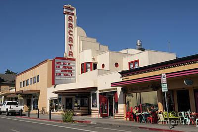 Photograph - Arcata Theater Arcata California Dsc5376 by Wingsdomain Art and Photography