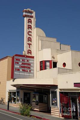 Photograph - Arcata Theater Arcata California Dsc5377 by Wingsdomain Art and Photography