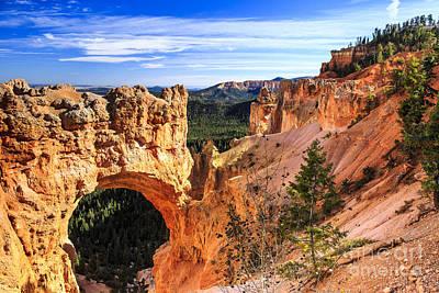 Photograph - Natural Bridge At Bryce Canyon by Ben Graham