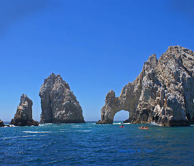 Cabo Digital Art - Arch At Cabo San Lucas by Heather Coen