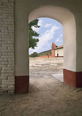 Photograph - Arch At La Purisima by Sharon Foster