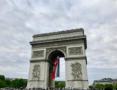 Photograph - Arch De Triumph by Les Weber