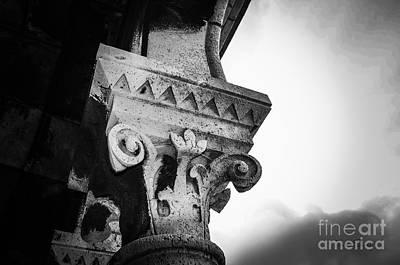 Sacre Coeur Photograph - Arch Detail Of La Sacre Coeur - Paris by Turtle Shoaf
