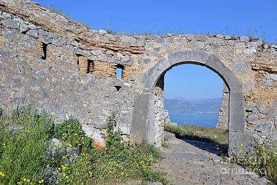 Photograph - Arch In Palamidi Castle by George Atsametakis