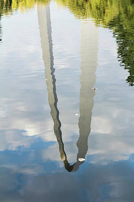 Photograph - Arch In Water by Scott Rackers