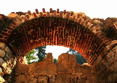 Photograph - Arch Near The Roman Amphitheater In Alexandria by Laurel Talabere